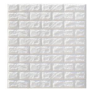 20 Stück 3D Wandpaneele Selbstklebend Ziegelstein Tapete Brick Muster für Schlafzimmer Wohnzimmer Moderne Tv Wände oder Küche Dekor