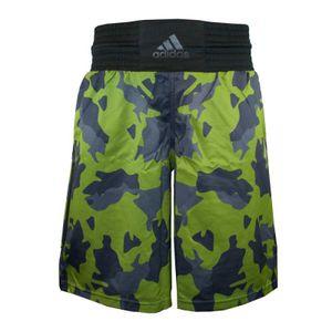 Adidas Multiboxing Fightshort Camo Green Black - Größe: M
