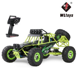 Wltoys 50 km / h High-Speed-RC-Car 1/12 2,4 G 4WD Gelaendewagen RC Rock Crawler Cross-Country-RC-Truck