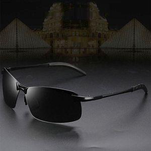 Männer polarisierte sonnenbrille im freien fahren frauen sport sonnenbrille Einheitsgröße Rechteck Schwarz polarisiert