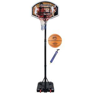 Hudora 71664 3er Set Basketballkorb Chicago + Ball