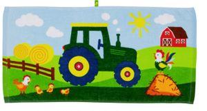 Die Spiegelburg Zauberhandtuch Traktor (Wenn ich mal groß bin)