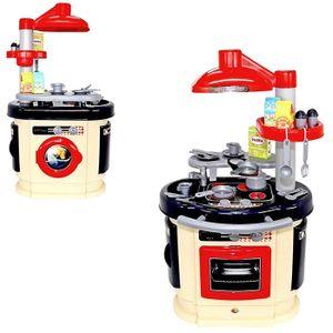 WADER 52346 Spielküche Kinderspielzeug Backofen Kinderküche + Zubehör Spielzeug