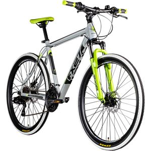 Zündapp FX27 650B Mountainbike 27,5 Zoll Hardtail MTB Fahrrad 21 Gänge, Farbe:grau, Rahmengröße:48 cm