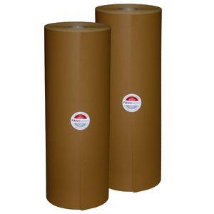 2 Rollen FANODUST 50-60g/m² braun Füllmaterial Packpapier Schrenzpapier