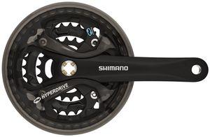 Shimano Acera FC-M361 Kurbelgarnitur 42/32/22 schwarz Kurbelarmlänge 175mm