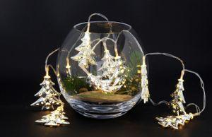 2x LED Lichterkette Tannenbaum Lichtgirlande 110 cm