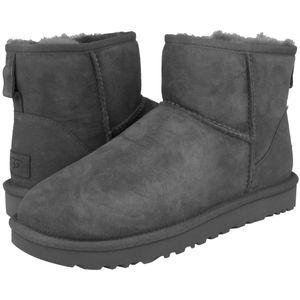 UGG Classic Mini II Boot Stiefel Damen Grau (1016222 GREY) Größe: 38 EU