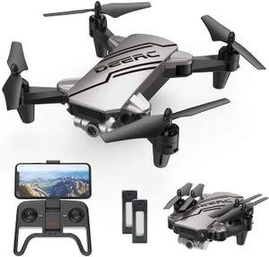 DEERC D20 Mini Drohne für Kinder mit Kamera HD 720P mit FPV 2 Akku