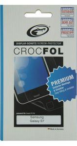 Crocfol 5K HD 2x Premium Displayschutzfolie für Samsung Galaxy S7