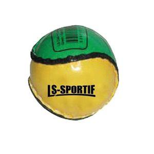 "LS Sportif - Kinder Sliotar-Ball ""Club and County"" RD555 (Einheitsgröße) (Grün/Gold)"