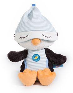 NICI Schlafmützen Kuscheltier Pinguin Koosy, Plüsch 38 cm, 40845