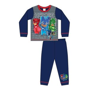 PJ Masks Jungen Schlafanzug Heroes Rule 576 (98) (Blau/Rot)