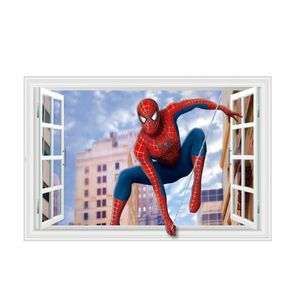 Wandtattoos  Spiderman Cartoon Wand Aufkleber Dekorative Aufkleber Tapete