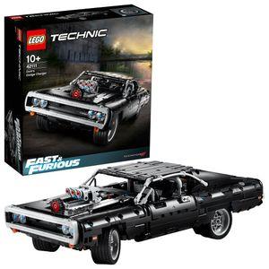 LEGO 42111 Technic Dom's Dodge Charger, Fast and Furious Modellauto für Kinder und Erwachsene, Rennwagen, Rennauto, tolles Geschenk