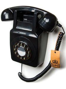 GPO Retro 746 Analoges Telefon Schwarz