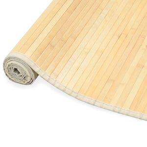 anlund Teppich Bambus 150 x 200 cm Natur