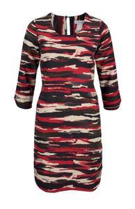 Aniston Kleid kurzes Damen Jerseykleid Camouflage Chic Mehrfarbig, Größe:36