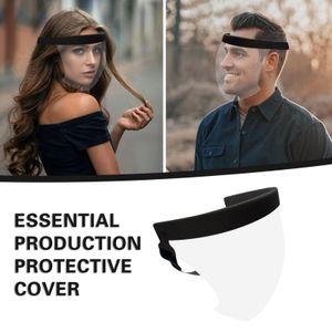 Full Face Schild Schutz mit Elastischen Stirnband für Schutz von Speichel