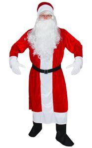 Premium Weihnachtsmann Mantel, 6-teilig, Größe:XL/XXL