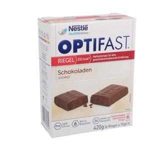 OPTIFAST Riegel, 6 x 70g - Schokolade