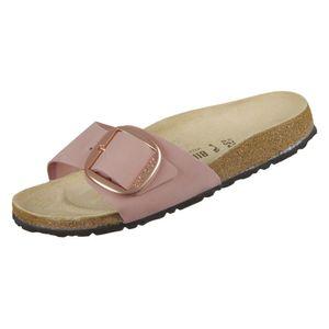 Birkenstock Damen Pantoletten  Leder rosa 40