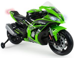 Injusa batteriefahrzeug Motorrad Kawasaki ZX1012V grün/schwarz