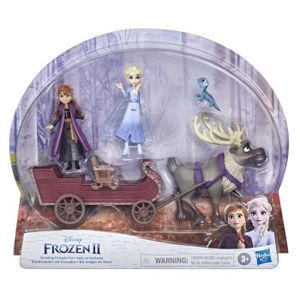 Disney Frozen 2 - Elsas Freunde und Schlitten