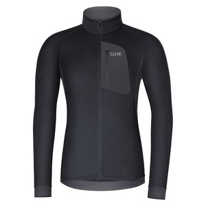 Gore Wear Thermo Shirt Thermo Trainingsjacke Schwarz - Herren, Größe:M