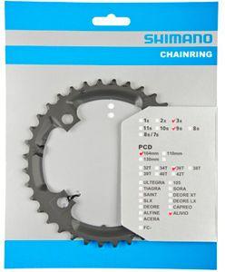 Shimano Alivio FC-M431 Kettenblatt 9-fach schwarz Ausführung 26Z