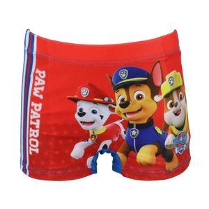 Paw Patrol Kinder Badehose Badeshorts Rot Gr. 104/110