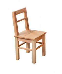 Kinderstuhl Kinderzimmer-Stuhl kernbuche massiv geölt