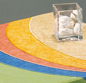 Best Tischdecke eckig 160x130cm terracotta-marm.