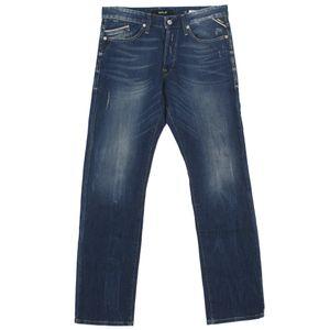 21014 Replay, Waitom,  Herren Jeans Hose, Stretchdenim, blue vintage, W 30 L 34