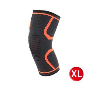 2 Stück Knie-Ärmel-Kompressionsstütze Unterstützung für Sport Gelenkschmerzen Arthritis Relief QIU200624035XL