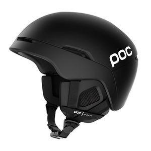 POC Obex Spin Skihelm Damen und Herren Snowboardhelm , Farbe:uranium black, Größe:Gr. XL/XXL (59-62 cm)