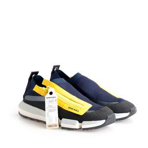 """Diesel Sneaker """"H-Padola Low Zip"""" -  Y01917 P2166 H7196   H-Padola Low Zip Sneakers - Blau -  Größe: 43(EU)"""
