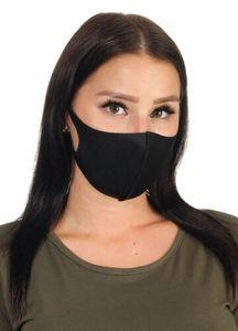 5x Mund-Nasen-Schutz Stoffmaske waschbar wiederverwendbar Atemschutzmaske