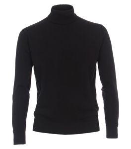 Redmond - Herren Rollkragen Pullover (501), Größe:XL, Farbe:Schwarz(90)