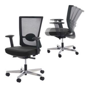 Bürostuhl MERRYFAIR Forte, Schreibtischstuhl, Sliding-Funktion ergonomisch  schwarz