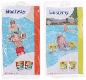 Bestway® Schwimmflügel für Kinder, Friendly Fish, 3–6 Jahre, 23 x 15 cm