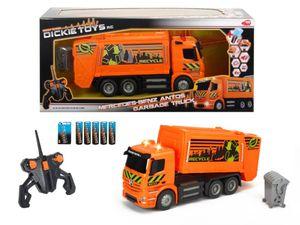 Dickie RC MB Antos Garbage Truck, RTR