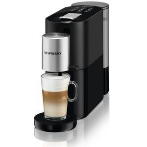 Krups XN 8908 Nespresso Atelier schwarz/silber, Farbe:Schwarz/Silber