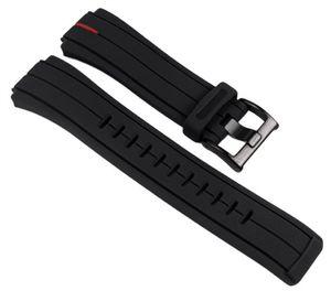 Timex Ersatzband Kunststoff schwarz 16mm T2N720 T2N722 T2N723 T49709