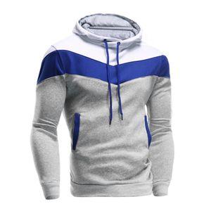 Männer Retro Langarm Hoodie Hooded Sweatshirt Tops Jacke Mantel Outwear HQL61107501 Größe:XL,Farbe:Grau