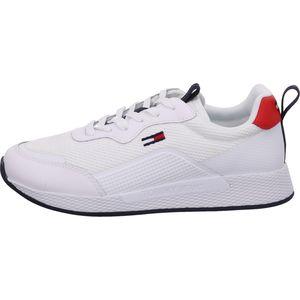 Tommy Hilfiger Techn. Detail Runner Damen Sneaker in Weiß, Größe 38