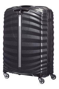Samsonite Lite-Shock Spinner Schwarz 69 cm Trolley Koffer 73 L