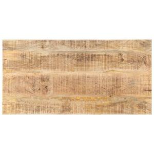 vidaXL Tischplatte Massivholz Mango 25-27 mm 100x60 cm