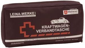 LEINA KFZ Verbandtasche Elegance Inhalt DIN 13164 schwarz