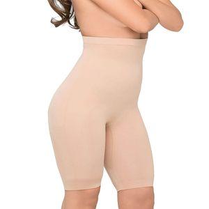 Body Wrap Shapewear Damen - Miederhose Damen (S-XL) Body Shaper Damen Bauchweg Unterhose Damen Bodyshaper für Frauen - nahtlose Figurformung, Farben:Haut (SK), Größe:44 (XL)